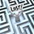 lost man holding sign in labyrinth maze stock photo © iqoncept