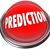 prediction red 3d button prophesy fate destiny fortune telling stock photo © iqoncept