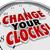 время · изменений · часы · трава - Сток-фото © iqoncept