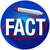 fact word long shadow circled red marker circle stock photo © iqoncept