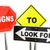 signs to look for watch caution warning 3d illustration stock photo © iqoncept