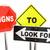 ilustração · 3d · aviso · construção · segurança · lei - foto stock © iqoncept