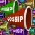 gossip   word on many bullhorns stock photo © iqoncept