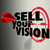 sell your vision words arrow target presentation plan strategy stock photo © iqoncept
