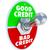 goede · slechte · Rood · groene · straat · borden - stockfoto © iqoncept