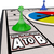 how to get from a to b board game travel path route direction stock photo © iqoncept