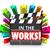filme · filme · comentários · palavra · cinema - foto stock © iqoncept