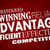 advantage benefits competitive edge words collage 3d illustratio stock photo © iqoncept