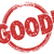 good 3d word stamp grunge style great feedback rating approval r stock photo © iqoncept