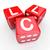 llc letters 3 red dice gamble bet new business venture entrepren stock photo © iqoncept