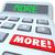 more word calculator adding additional bonus money income budget stock photo © iqoncept