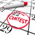 contest calendar date circled reminder entry deadline win stock photo © iqoncept