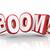 boom 3d word explosive growth increase sales economy improvement stock photo © iqoncept