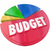 budget pie chart plan money spending saving stock photo © iqoncept