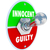 innocent vs guilty toggle switch verdict judgment legal trial stock photo © iqoncept