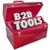 b2b · vermelho · 3D · cartas · abreviatura · acrônimo - foto stock © iqoncept