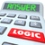 logic word calculator numbers formula equation answer stock photo © iqoncept