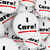 i care words button caring compassionate helpful people workers stock photo © iqoncept