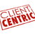 client centric words red stamp customer focused company stock photo © iqoncept