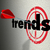 trends words target wall fad bulls eye current popular product stock photo © iqoncept