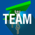 team word long shadow people working together lift arrow stock photo © iqoncept