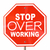 stop over working relax take break sign 3d illustration stock photo © iqoncept
