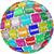 global · desenvolvimento · negócio · mapa · mundo · organizado - foto stock © iqoncept
