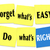 forget whats easy do whats right sticky note saying motto stock photo © iqoncept
