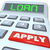 loan word calculator borrow money apply financing bank stock photo © iqoncept