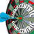 client centric words dart board targeting customer service stock photo © iqoncept