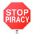 stop piracy illegal file sharing internet torrent websites stock photo © iqoncept