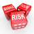 manage your risk words dice reduce costs liabilities stock photo © iqoncept