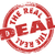 the real deal red grunge stamp authentic original approved legit stock photo © iqoncept