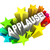 applause word appreciation ovation approval stars stock photo © iqoncept