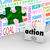 action word puzzle piece wall hole proactive ideas active succes stock photo © iqoncept