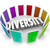 diversity 3d word many choices ethnic racial backgrounds heritag stock photo © iqoncept