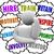 hire train motivate reward inspire retain thought clouds keep em stock photo © iqoncept