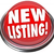 new listing button flashing red light home house for sale stock photo © iqoncept