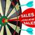 sales word dart dartboard success in business darts stock photo © iqoncept