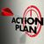 action plan arrow hitting target aim focus goal objective stock photo © iqoncept