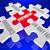 erős · vs · gyenge · erő · gyengeség · puzzle - stock fotó © iqoncept