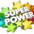 楽しい · スーパーヒーロー · 3次元の図 · ボディ · 青 · 速度 - ストックフォト © iqoncept