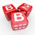 b2b · czerwony · 3D · litery · skrót · akronim - zdjęcia stock © iqoncept