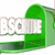subscribe word mailbox sign up newsletter info 3d illustration stock photo © iqoncept