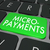 micro payments words computer keyboard buy online website stock photo © iqoncept