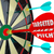 targeted sales pitch dart board finding customers clients stock photo © iqoncept