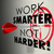 work smarter not harder arrow target goal effective efficient pr stock photo © iqoncept