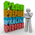 plan prepare practice perform thinking person strategy idea stock photo © iqoncept