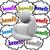 találgatás · becslés · személy · gondolkodik · adatbázis · felhők - stock fotó © iqoncept