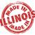 Illinois · ikon · ayarlamak · harita · Amerika · Birleşik · Devletleri - stok fotoğraf © iqoncept